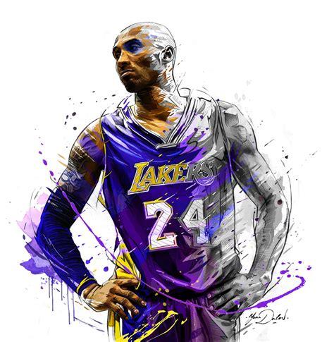 My painting of Kobe Bryant. | Kobe bryant poster, Bryant ...