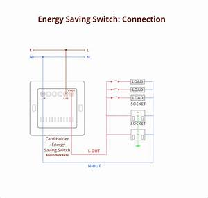 Energy Saving Switch  Card Holder For Hotels
