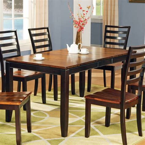 wood dining table with leaves 20 wood rectangle dining tables that seats 6 500 9259