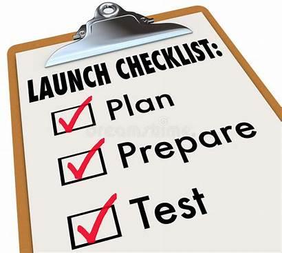 Launch Prepare Checklist Test Check Plan Ready