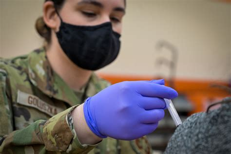 While final estimates are pending, early estimates based on survey data suggest flu vaccination. DVIDS - Images - U.S. Air Force Staff Sgt. Victoria Goluszka Administers Vaccines To Illinois ...