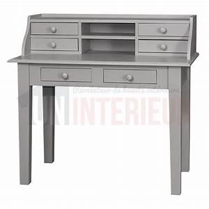 Bureau En Pin : acheter meuble critoire design pin massif ~ Teatrodelosmanantiales.com Idées de Décoration