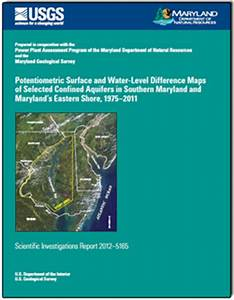 Potentiometric Surface and Water-Level Difference Maps of ...