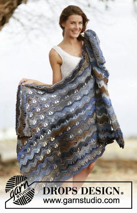 mes favoris tricot crochet mod 232 le crochet gratuit un plaid au point vague 233 toles et ch 226 les