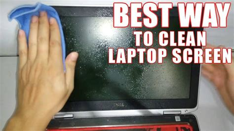 clean screen laptop monitor cleaning way