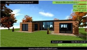nouveaux modeles et photos de maisons bois modernes With maison toit plat bois 4 isolation pare vapeur et gazon notre maison ossature bois