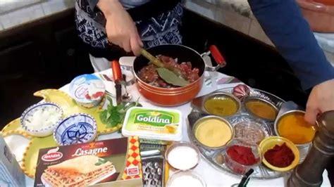 cuisine tunisienne lasagne recette tunisienne لازانية على الطريقة التونسية