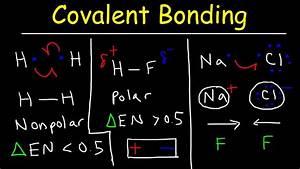 Polar Covalent Bonds And Nonpolar Covalent Bonds  Ionic