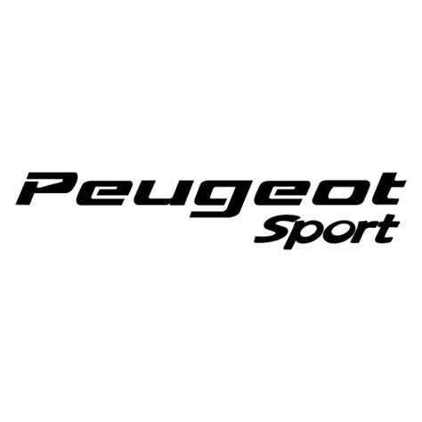 Peugeot Decals by Peugeot Sport Logo Decal