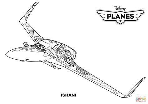 Disney Planes Ishani Coloring Page