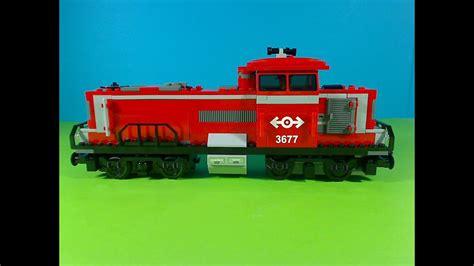 Lego Red Cargo Train 3677