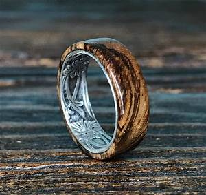 2018 popular handmade mens wedding rings With wooden mens wedding rings