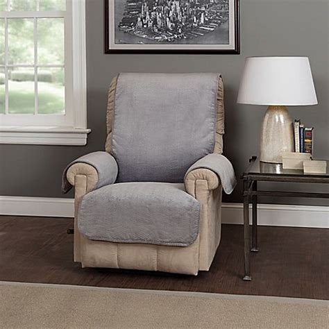 covers bed bath and beyond waves recliner and wing chair protector bed bath beyond