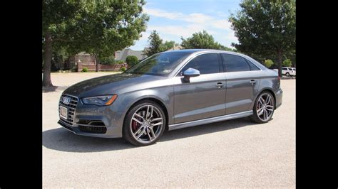 2015 Audi S3 by 2015 Audi S3 2 0t Quattro Start Up Test Drive And In