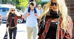 Fergie and Josh Duhamel take baby Axl to church on ...