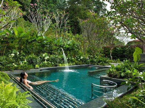 Garden Pool :  The Best New Hotels In The World