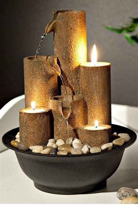 relaxing indoor fountain ideas clay projects