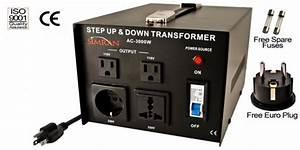 3000 Watt Two Way Voltage Converter Ac3000w