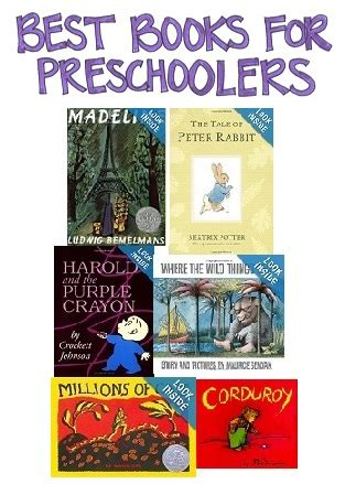 best books for preschool researchparent 773 | Best Books for Preschoolers pin