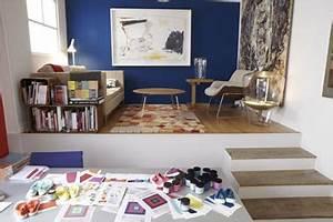 Couleur Bleu Canard Deco : peinture salon couleur bleu canard salle manger blanche ~ Melissatoandfro.com Idées de Décoration