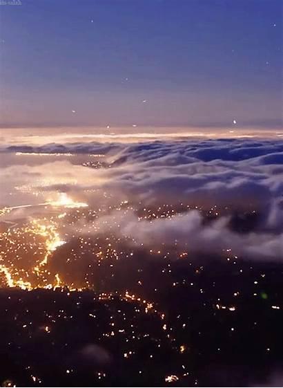 Gifs Sunset Sky Clouds Night Cloud Dream