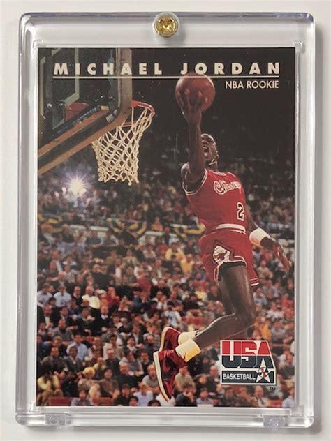 Michael jordan rookie card psa graded value and prices. MICHAEL JORDAN Team USA - NBA Rookie Basketball Card