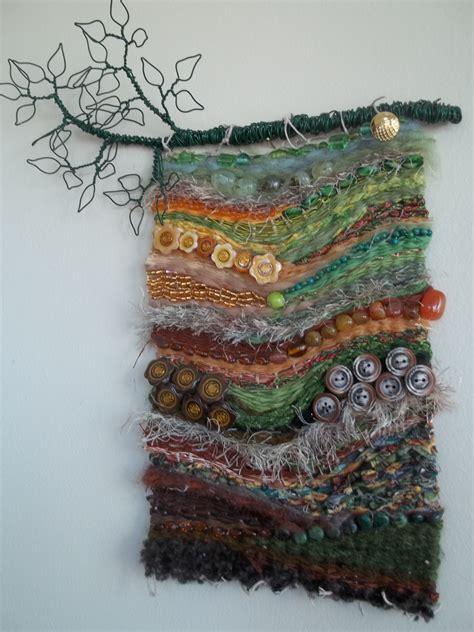 top   woven textile wall art