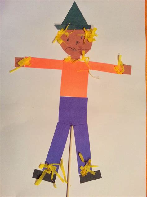 choices for children quot piecemeal quot scarecrow 739 | scarecrow on stick