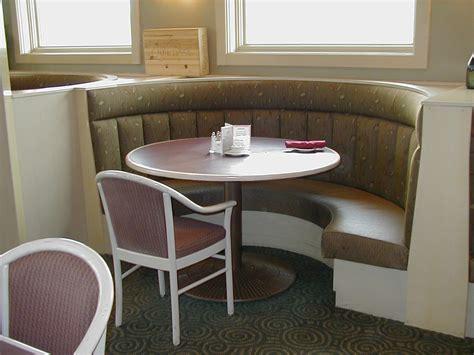 Elegant Dining Furniture Design With Curved