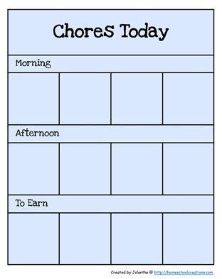 preschool chore charts 580 | Preschool Chore Cards 1[6]
