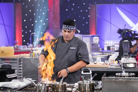 cuisine tv iron chefs to legendary kitchen stadium for