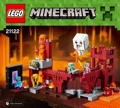minecraft  nether fortress lego