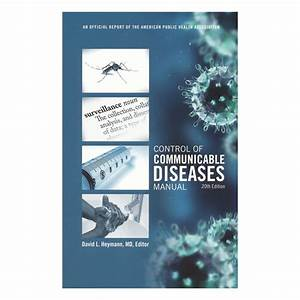 Control Of Communicable Disease Manual