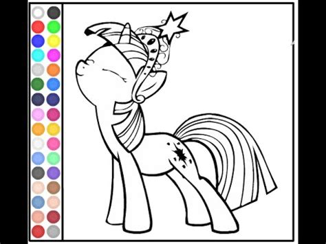 pony coloring pages  youtube