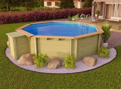 Swimmingpool Aus Holz by Karibu Pool Holz Swimmingpool Variante A Poolgrundk 246 Rper
