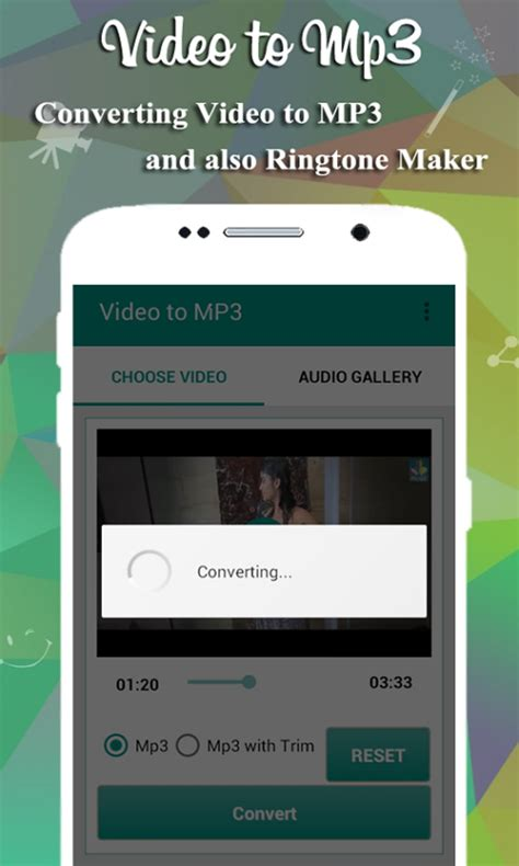 video  mp converter  android