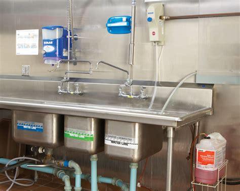 3 compartment sink sanitizer oasis 146 multi quat sanitizer