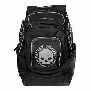 Harley Davidson Rucksack Wasserdicht : harley davidson skull delux back pack at thunderbike shop ~ Jslefanu.com Haus und Dekorationen