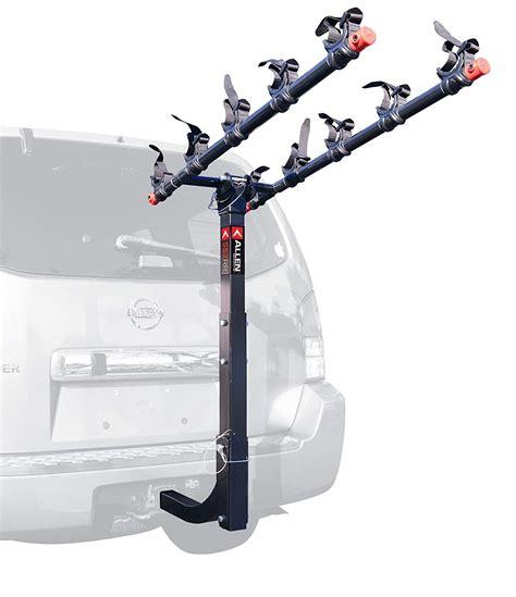 car bike rack  bike hitch mount heavy duty steel folding carrier cradle system ebay