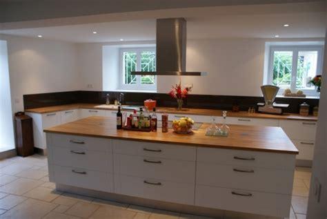 cuisine ikea blanche et bois une cuisine de luxe 6 photos cuisine16