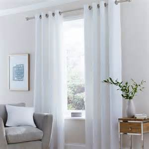 vermont white lined eyelet curtains dunelm