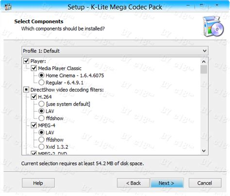 Your pc may require you to download a codec if you try to play a video format it. K-Lite Codec Pack 9.80 (Full) - 32 bit y 64 | PUERTOFREE