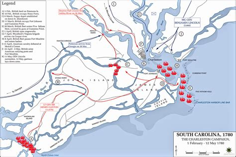 the state of siege siege of charleston map afputra com