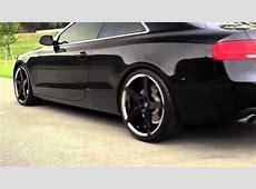 Audi A5 on 20 InvictusZ Black vs Machined Finishes
