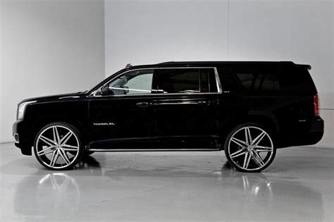 chevrolet silverado with 24in lexani johnson ii wheels 28 quot lexani johnson 2 on 2015 gmc yukon xl i like it i