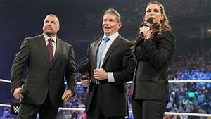 Triple H With His Wife & His Father-In-Law - WWE ...