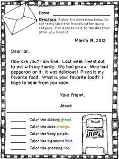 friendly letter  google search writing
