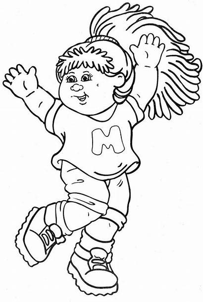 Cabbage Patch Coloring Pages Printable Sheets Books