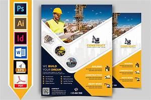 Construction Flyer Template Vol