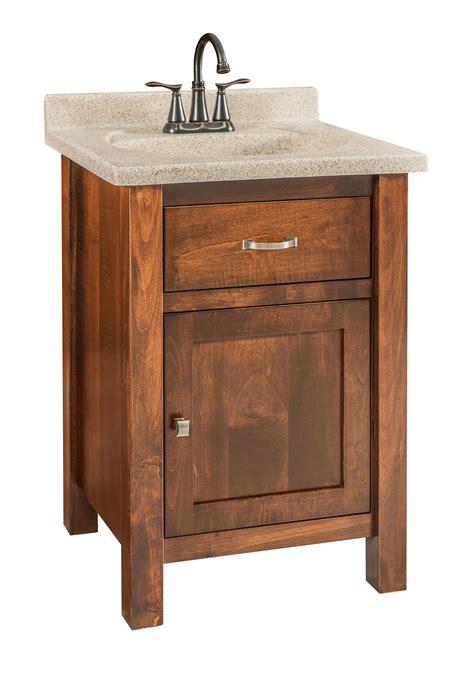 quick ship brown maple bathroom vanity